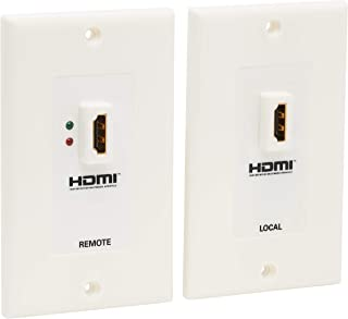 Tripp Lite HDMI over Dual Cat5/Cat6 Extender Wall Plate Kit with Transmitter and Receiver, TAA, 3 Year Warranty (P167-000)...