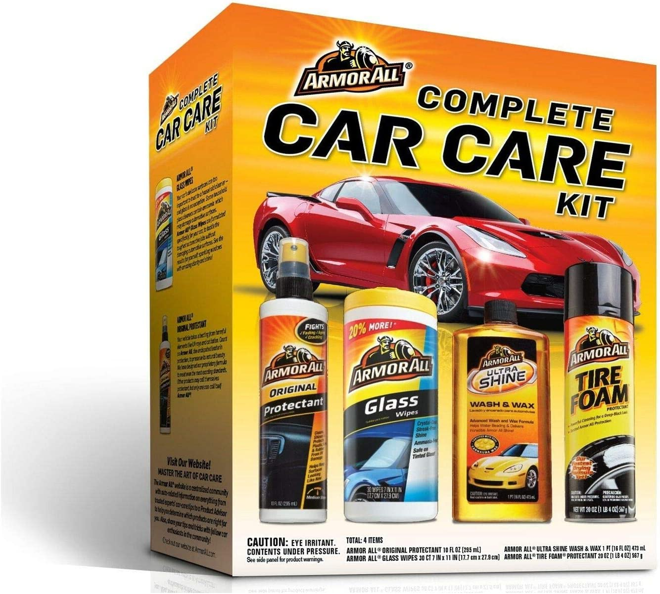 Car Care Kit Cleaning Set Holiday Wax Gift Free shipping Pack Wash Max 48% OFF Inter Shine