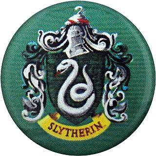 Harry Potter Botón Broche Insignia Oficial Slytherin Escuela Logotipo Cresta