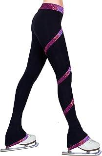 ny2 شلوار لباس ورزشی شکل اسکیت Spiral Polartec شلوار پشم قطعه قطعه