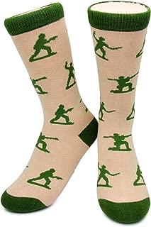 Army Men Socks by Neon Eaters - Kids, Boys, Womens & Mens Novelty, Funky, Funny
