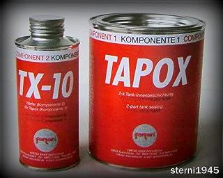 FERTAN TAPOX 2 Komponenten TANKVERSIEGELUNG;Tank;ROST;Auto;Motorrad;Tankbeschichtung,Innenbeschichtung,Tankrestaurierung