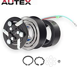 AUTEX AC A/C Compressor Clutch Coil Assembly Kit CO 10663AC 38810PNB006 38870PNB006 Replacement for HONDA CR-V 2002 2003 2004 2005 2006