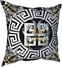 Rideaux Versace Pas Cher Fashion Soft Cotton Cushion Cover Pillowcases Throw Pillow Decor Pillow Case Home Decor 18X18 Inch