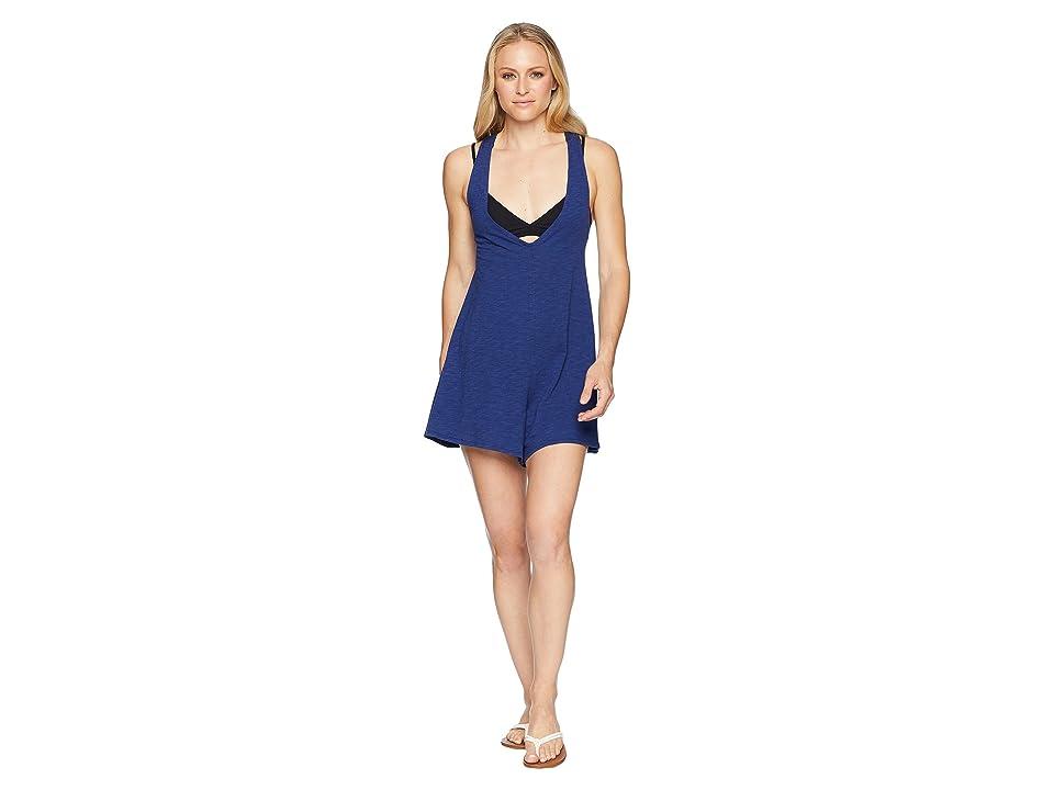 Speedo Alice Romper Swimsuit Cover-Up (Speedo Navy) Women