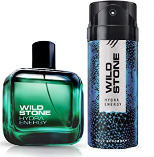 Wild Stone Hydra Energy Combo Deo and EDP, 100 ml