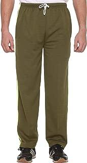 VIMAL JONNEY Men's Cotton Blended Black Trackpants
