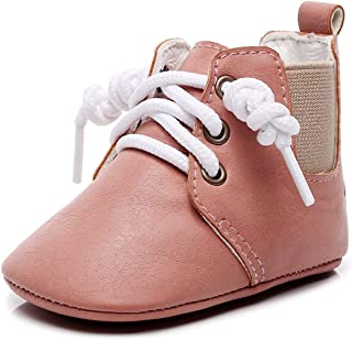 Baby Girls Boys Boots Anti-Skid Warm Winter Booties Ankle Premium Moccasins Toddler Firstwalker