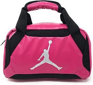 Nike Jumpman Premium Vivid Pink/Black/Metallic Silver Lunch Tote