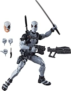 Hasbro Marvel Legends Series 12-inch Deadpool Action Figure from Uncanny X-Force Marvel Comics with Blaster/Weapon Accesso...