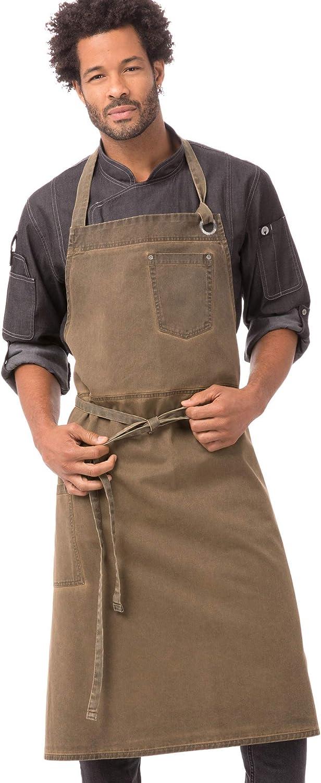 Ranking TOP18 Max 45% OFF Chef Works unisex-adult Dorset Apron Chefs Bib
