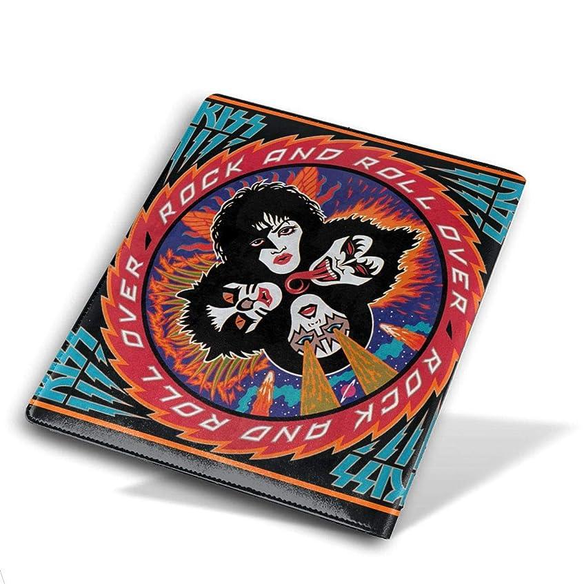 最少移動する恨みブックカバー 高級PUレザー KISS ブックカバー ノートカバー ブックカバー 本カバー 耐久性 子供 大人 読書 資料 収納入れ メモ帳カバー プレゼント 贈り物