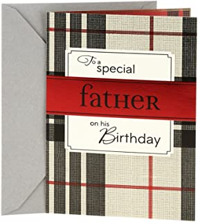 Hallmark Birthday Greeting Card for Dad (Wonderful Man)