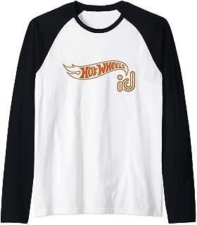 ID Orange Logo Raglan Baseball Tee