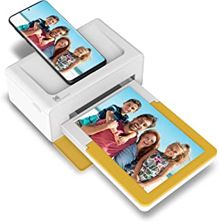 Kodak Dock Plus Portable Instant Photo Printer, Compatible with iOS, Android and Bluetooth DevicesFull Color Real Photo (4...