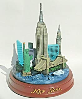 New York 3-D Model 4 1/2 High with Statue of Liberty, Empire State Building, New York City Souvenirs, NYC Souvenirs by MK