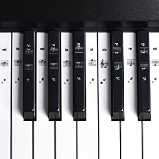 Flexzion Piano Stickers, Music Keyboard Sticking Pitch Notes