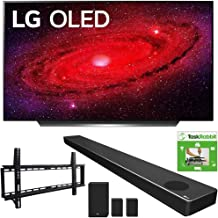$2993 » LG OLED55CXPUA 55-inch CX 4K Smart OLED TV with AI ThinQ (2020) Bundle SN11RG 7.1.4 ch High Res Audio Sound Bar + TaskRabbit Installation Services + Vivitar Low Profile Flat TV Wall Mount