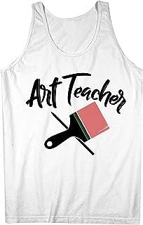Art Teacher School University 男性用 Tank Top Sleeveless Shirt