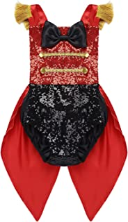Toddler Baby Girls Ringmaster Circus Costume Sequined Romper Halloween Christmas Birthday Party Outfit