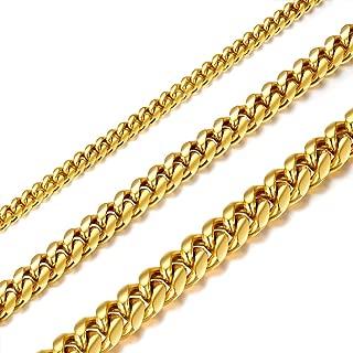 gold cuban link choker