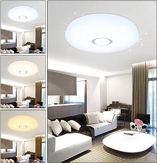 VGO 50W LED Plafond Starry Sky Plafond Plafond Mur Plafonnier Moderne Salon  Plafond Éclairage Salle De