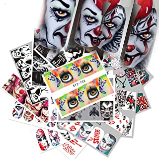 pennywise nail stickers