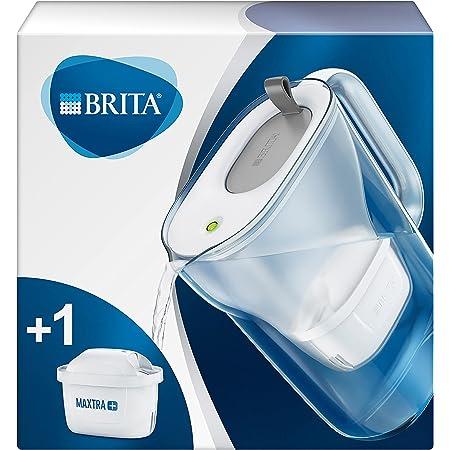 BRITA Carafe filtrante Style grise - 1 filtre MAXTRA+ inclus