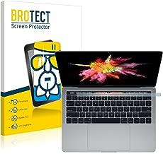"""BROTECT AirGlass Protection Ecran Verre Compatible avec Apple Macbook Pro Touch Bar 13"""" (Affichage inférieur) - Vitre Protection 9H"""