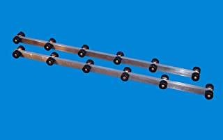 VE-VE Inc. 4 Ft. - 8 Ft. Boat Trailer Roller Bunks, 1 Pair. (Note: 4' & 8' in Production, Expected Back 11/25-30/19)