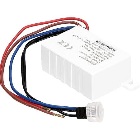 Orno Cr 227 Dämmerungsschalter Aussen 230v Mit Lichtstärke Anpassung Und Externen Sonde Ip54 Gewerbe Industrie Wissenschaft