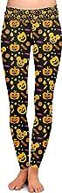 Halloween Mickey Pumpkins Disney Inspired Yoga Leggings - Full Length, Low Waist