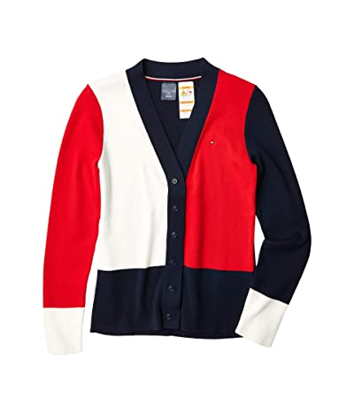 Tommy Hilfiger Adaptive Adaptive Cardigan Sweater with Magnetic Buttons (Masters Navy Multi) Women