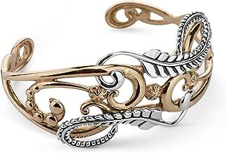 brass tape measure bracelet