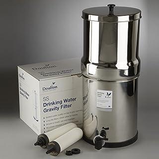 BRN BRITEFELD DSSG-2S-ATC-LBL-A Purificateur d'eau de gravité en acier inoxydable GWP avec filtre en métal lourd STERASYYL...