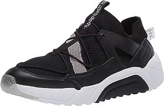 حذاء رياضي للنساء من Mark Nason Los Angeles لون أسود/فضي، 8. 5 M US