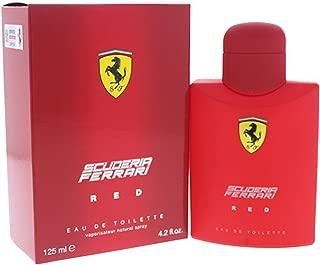 Ferrari Scuderia Red Eau De Toilette Spray, 4.2 Ounce