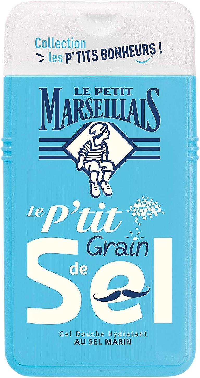 費用有限報酬「海塩」シャワージェル ???? フランスの「ル?プティ?マルセイユ (Le Petit Marseillais)」 les P'TITS BONHEURS 250ml ボディウォッシュ