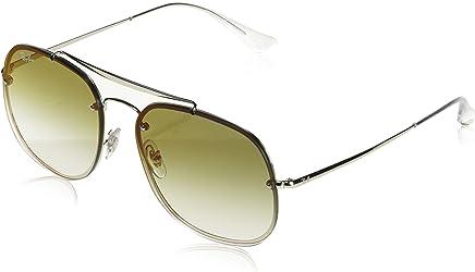 Ray Ban Unisex-Yetişkin Güneş Gözlükleri 0RB 3583N 003/W0 58, SILVER\CLEARGRADIENTGREENMIRRORRE,