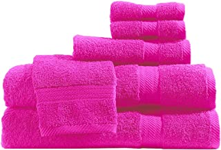 Baltic Linen Ultra 100% Cotton Towel Set, 6 Piece, Berry