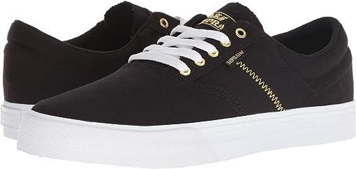 Black/Gold/White