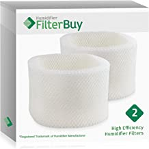 FilterBuy Replacement Humidifier Filters Compatible with HWF72 HWF75 Holmes, Touch Point, Sunbeam Humidifiers. Pack of 2.
