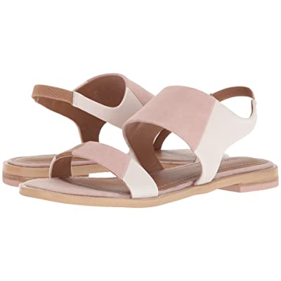 Kelsi Dagger Brooklyn Rogan (Off-White/Pale Pink Leather/Suede) Women