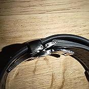 10 pi/èces Boucle 20mm Noir droitHurricane POM Acetal HEAVYTOOL/® Fermeture par clip /à boucle