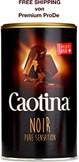 Black Cocoa Drink 500 g with Swiss Chocolate, Caotina/Switzerland