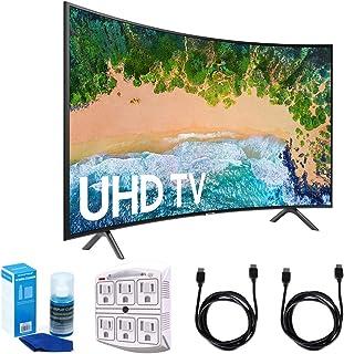 "Samsung 55NU7300 55"" NU7300 Smart 4K UHD TV 2018 with Surge Protector+Cleaning Kit (UN55NU7300)"