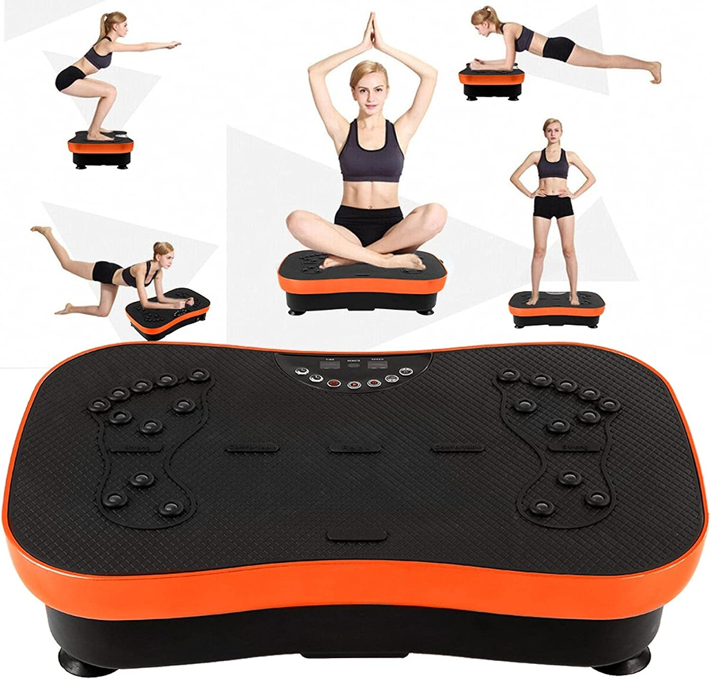 Kenxen Max 90% OFF Vibration Plate Max 80% OFF Exercise Machine Workout Body Whole Vibra