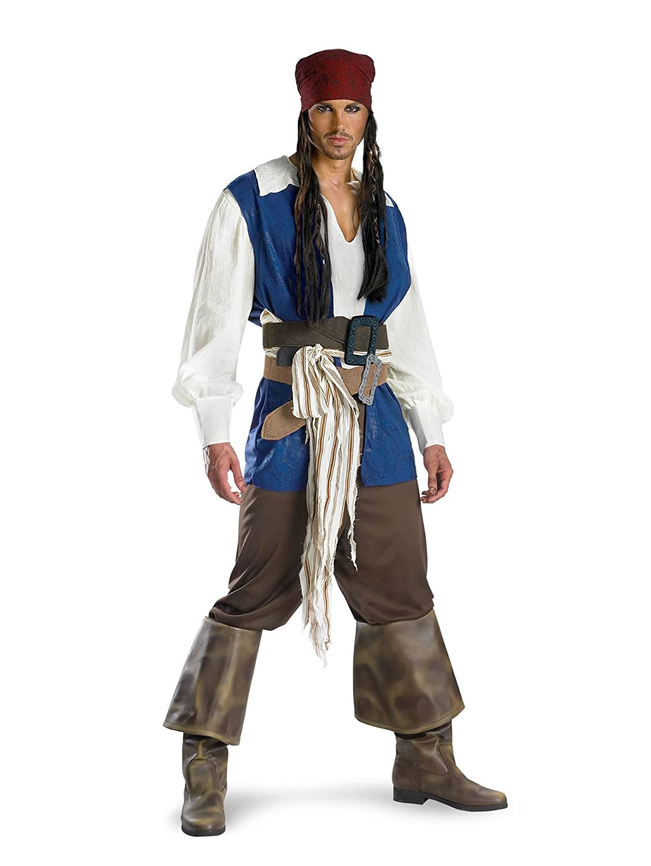 Disguise Men's Disney Pirates Classic Costume