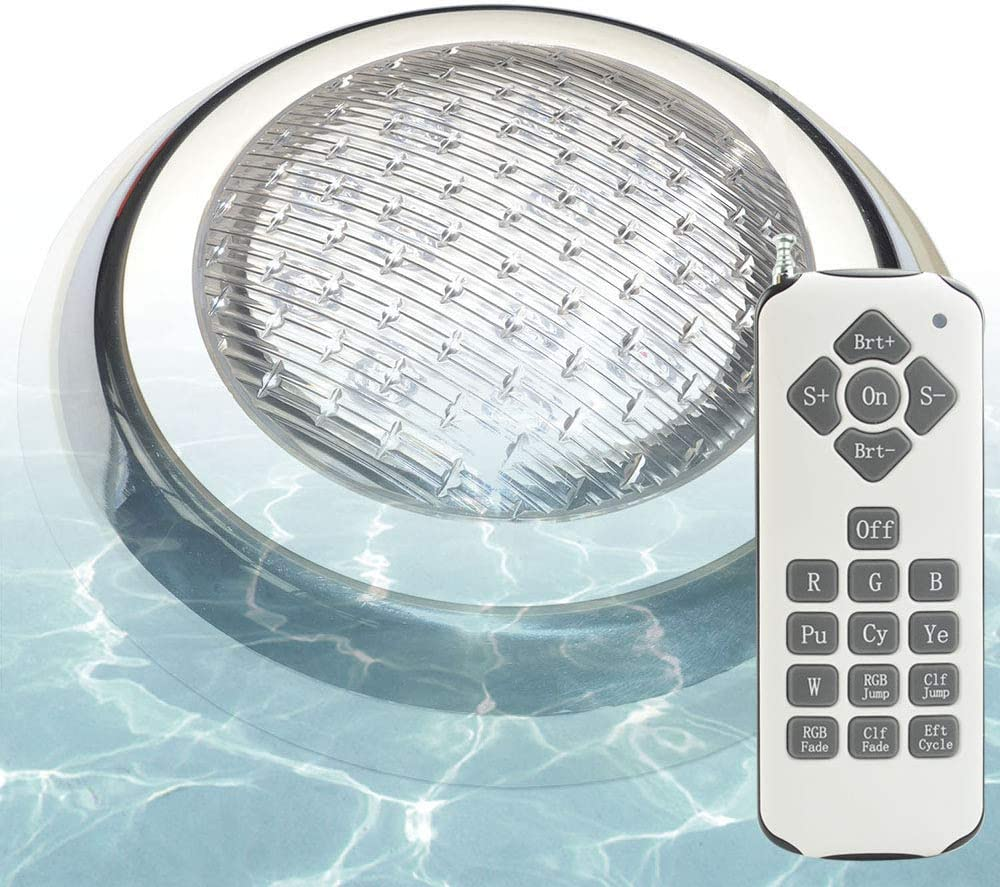 Aliyeah RGB Great interest LED Max 71% OFF Pool Mounted Light Wall Swimming