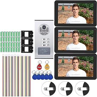 Video Doorbell, Intercom Doorbell, 9in for Home Security System Full Color(Australian regulations (100-240V))